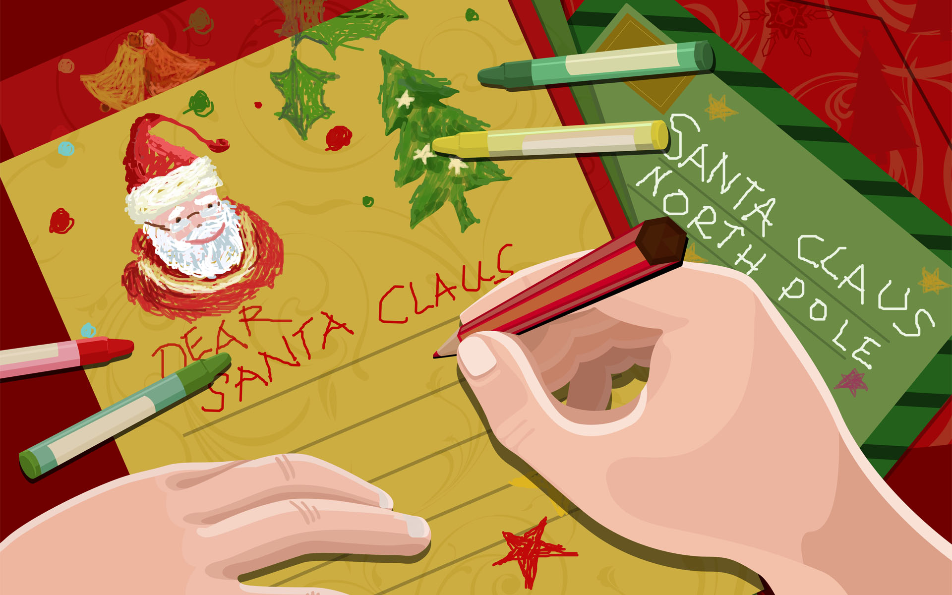 A letter to Santa Crazy Golf Blog