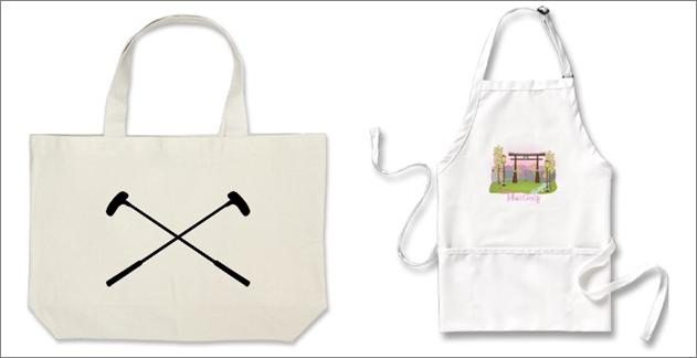 Crazy Golf Apron and Canvas Bag