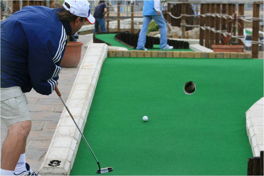 British Open held at Strokes Adventure Golf in Margate in 2008