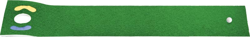 The prize of a Deluxe Putting Mat from Masters Golf goes to Kevin Dias for selecting the correct sqaure