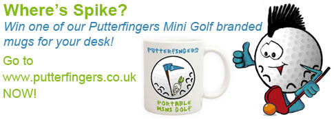 Win a Putterfingers Mug in our February Competition