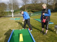 Mini Golf courses available for hire