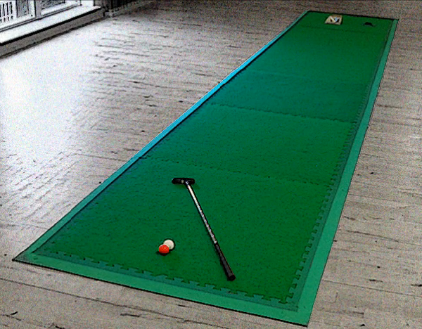 6 metre Portable Putting Green