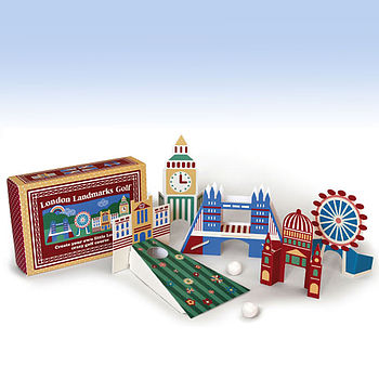 Flick Golf by Clockwork Soldier - play crazy golf with London Landmarks