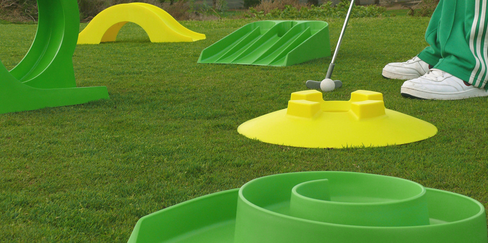 Crazy Golf Obstacles