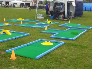 Portable Crazy Golf Hire