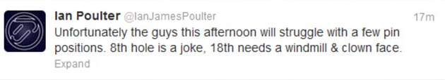 Ian Polters' Crazy Golf Clown tweet attack on Open 2013 at Muirfield