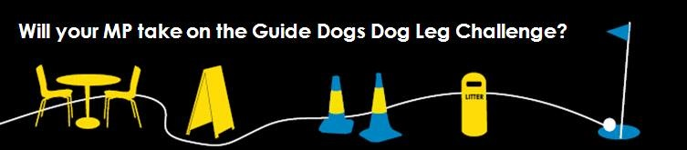 Guide Dogs Streets Ahead 'Dog Leg Challenge'