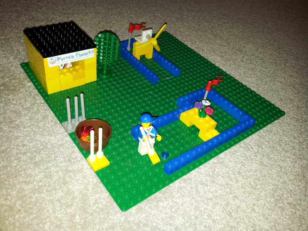 Lego Crazy Golf Course