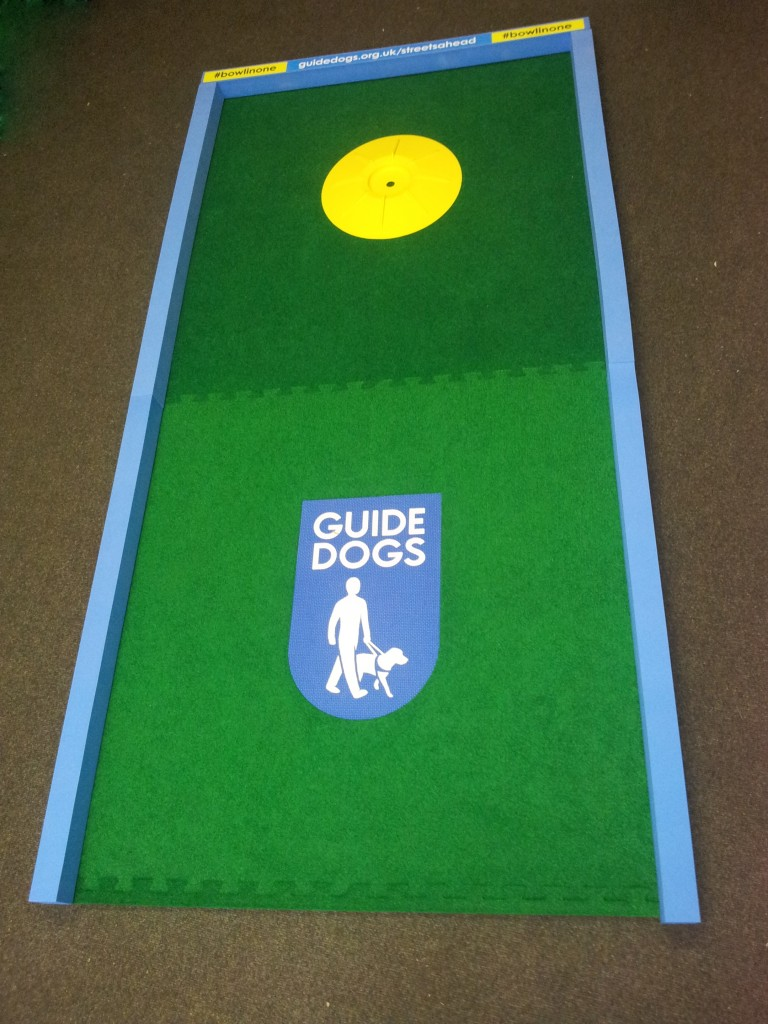 Mini Golf Exhibition Stand for Guide Dogs