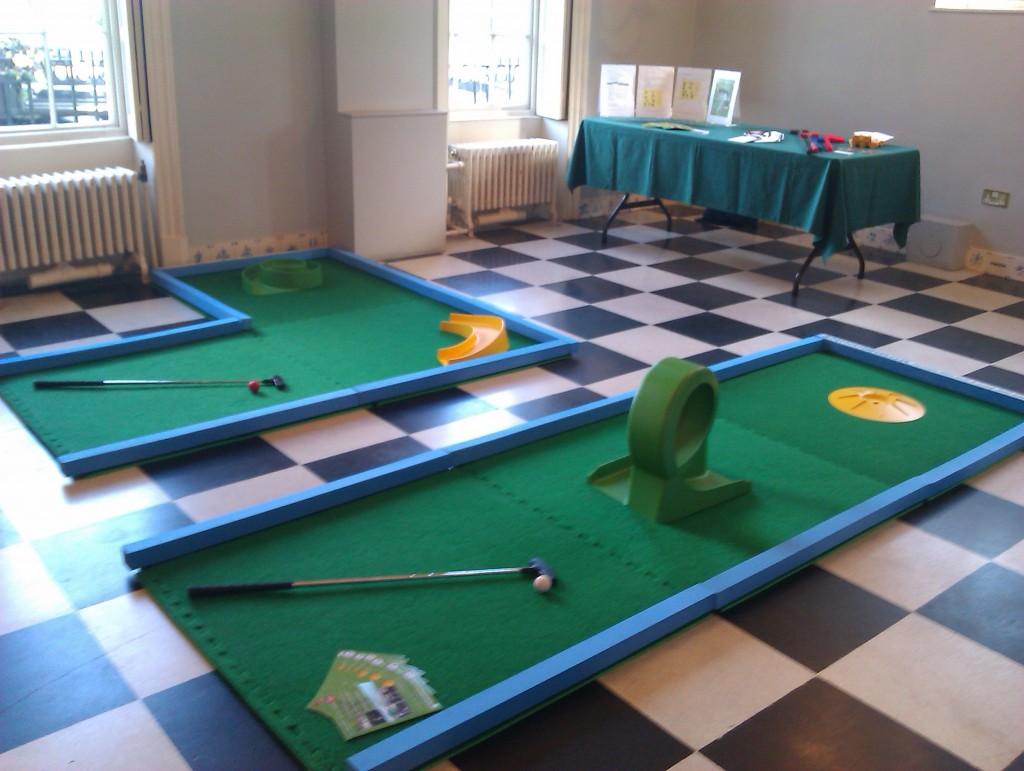 Wedding Crazy Golf at Wedding Fair