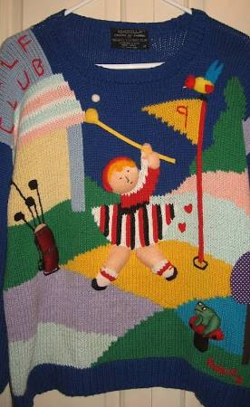 Christmas Golf Jumpers
