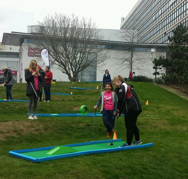 Sheffield Hallam Get Active Week 2014