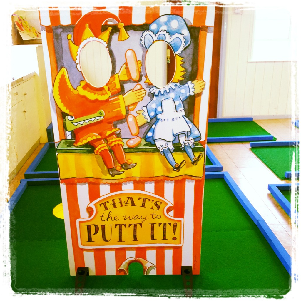 Picture Photo boards and portable crazy golf