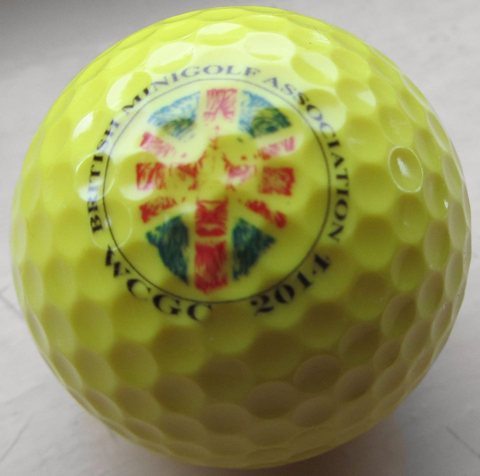 World Crazy Golf Championships Golf Ball