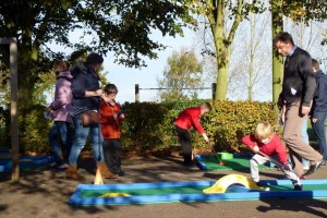 Crazy Golf for school children