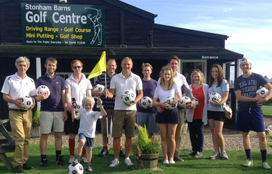 FootGolf a combination of football and big golf!