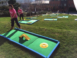 Hallam Union Get Active Week Mini Golf