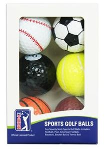sports novelty golf balls