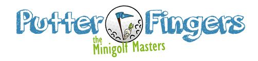Logo for Putterfingers Mini Golf Course Hire and Purchase