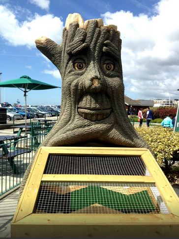 Lucky Last Hole at Hastings Crazy Golf