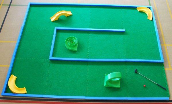 Portable Crazy Golf courses by Putterfingers