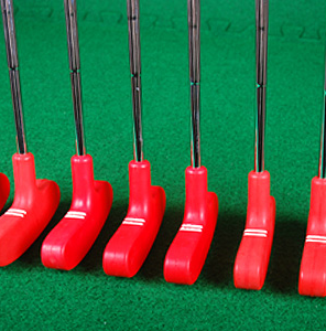 Crazy Golf Rubber Headed Putters