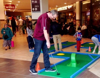 Shopping Centre crazy golf