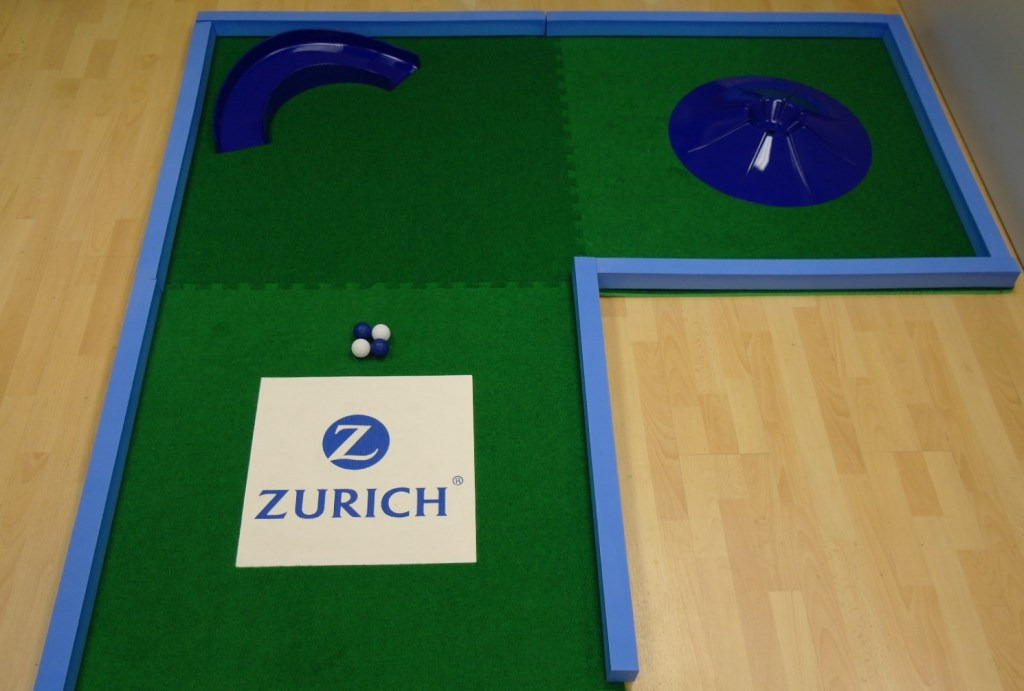 Branded Putting Green