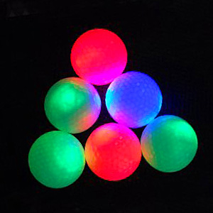 Flashing Golf Balls | www.putterfingers.co.uk