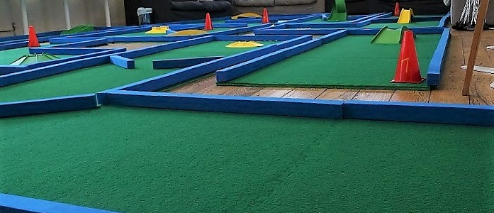 Putterfingers Crazy Golf Highlights for 2015