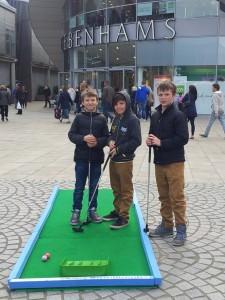 Crazy golf, golfathon, charity, fundraising, event