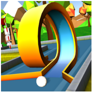 Retro minigolf, retro crazy golf, mobile golf games, android