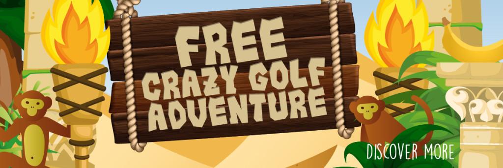 minigolf, crazy golf, doncaster, putterfingers