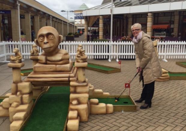 minigolf, crazy golf, doncaster