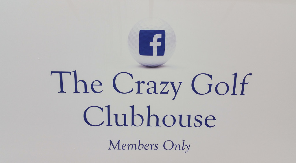Facebook London, Putting, crazy golf hire, mini golf hire