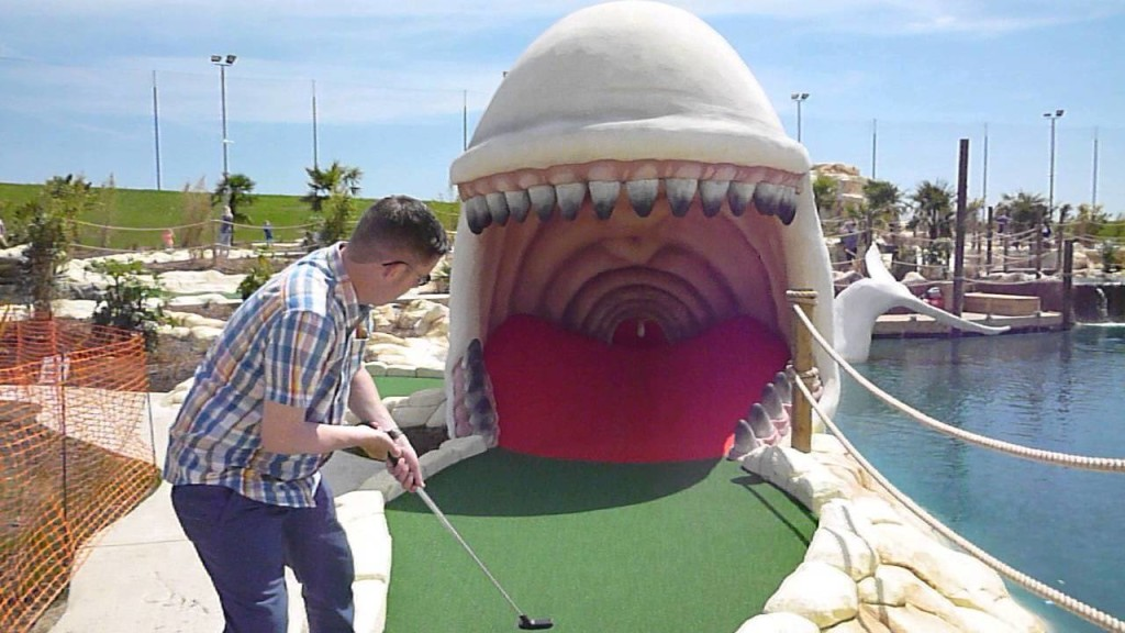 London crazy golf, minigolf, crazy golf
