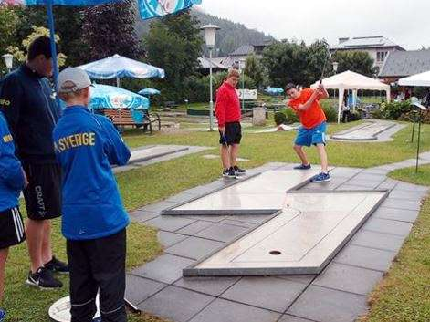 minigolf, crazy golf, youth championships