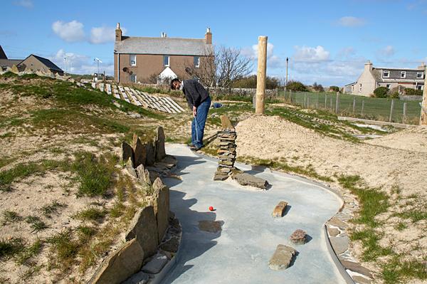 Burray Orkney Minigolf Course