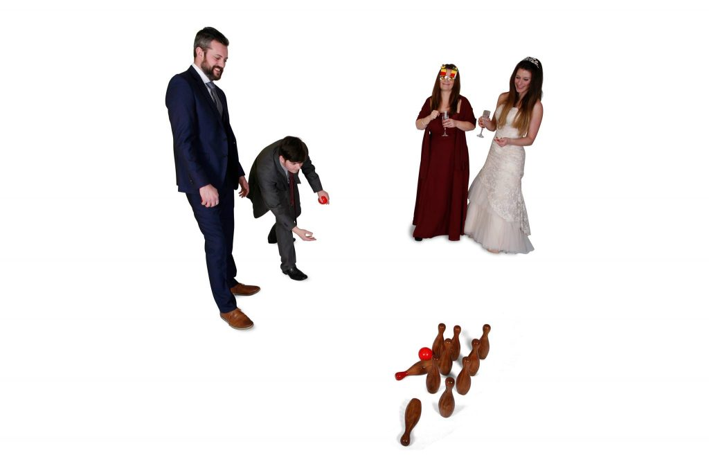 wedding entertainment, wedding games, wedding fun, pick & mix garden games