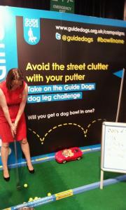 guide dogs minigolf marathon