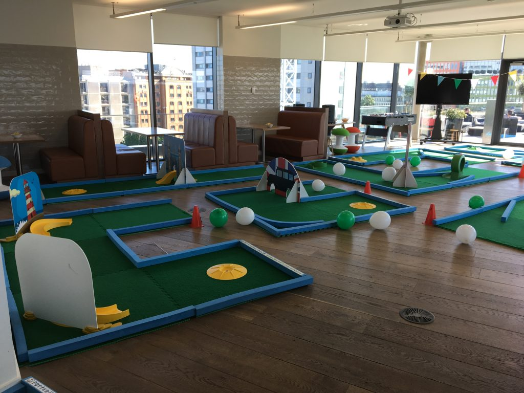 Office crazy golf London