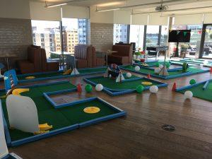 Office crazy golf London