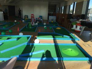 Office party fun crazy golf