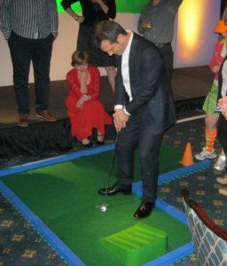 events crazy golf hire
