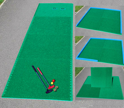 Youth mini golf training equipment