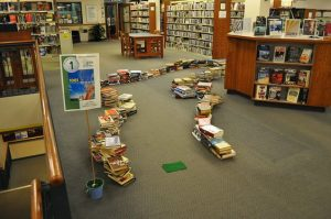 Library crazy golf