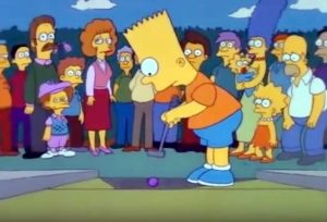 Simpsons, minigolf, dead putters society
