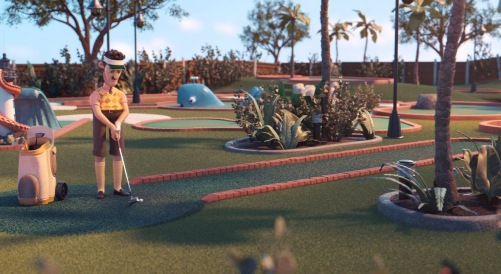 crazy golf short film