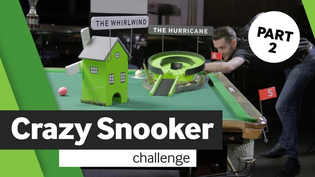 Crazy Snooker, crazy golf, Neil Robertson, Mark Selby, Snooker